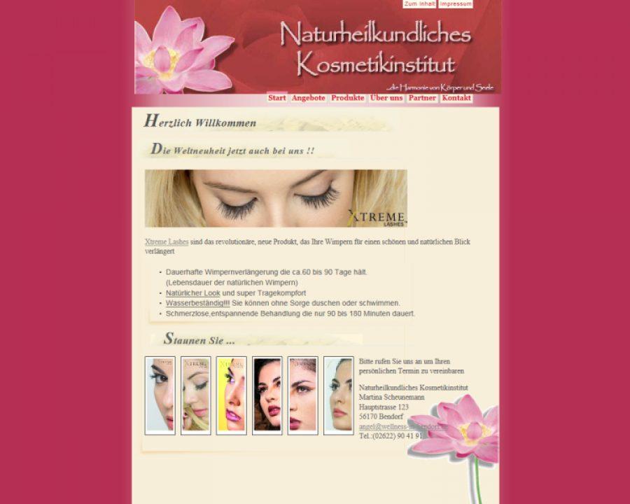 Naturheilkundliches Kosmetikinstitut: Kosmetik