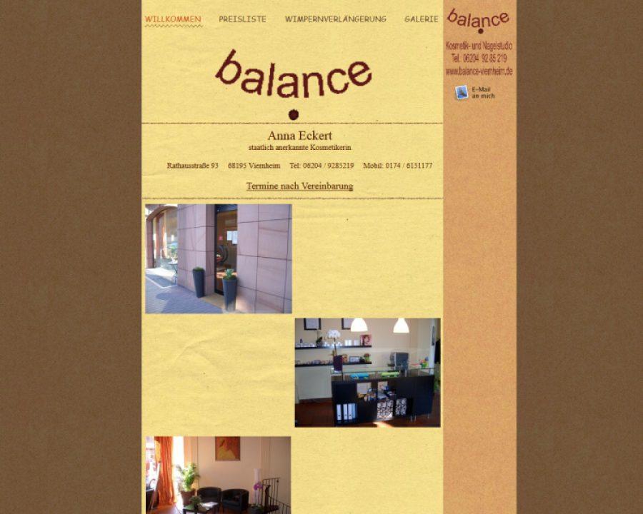 Balance Kosmetik u. Nagelstudio: Kosmetik