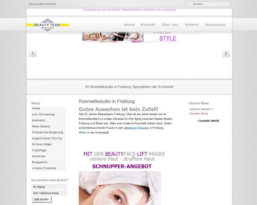 Beauty Team Bitsch & Liebherr: Kosmetik