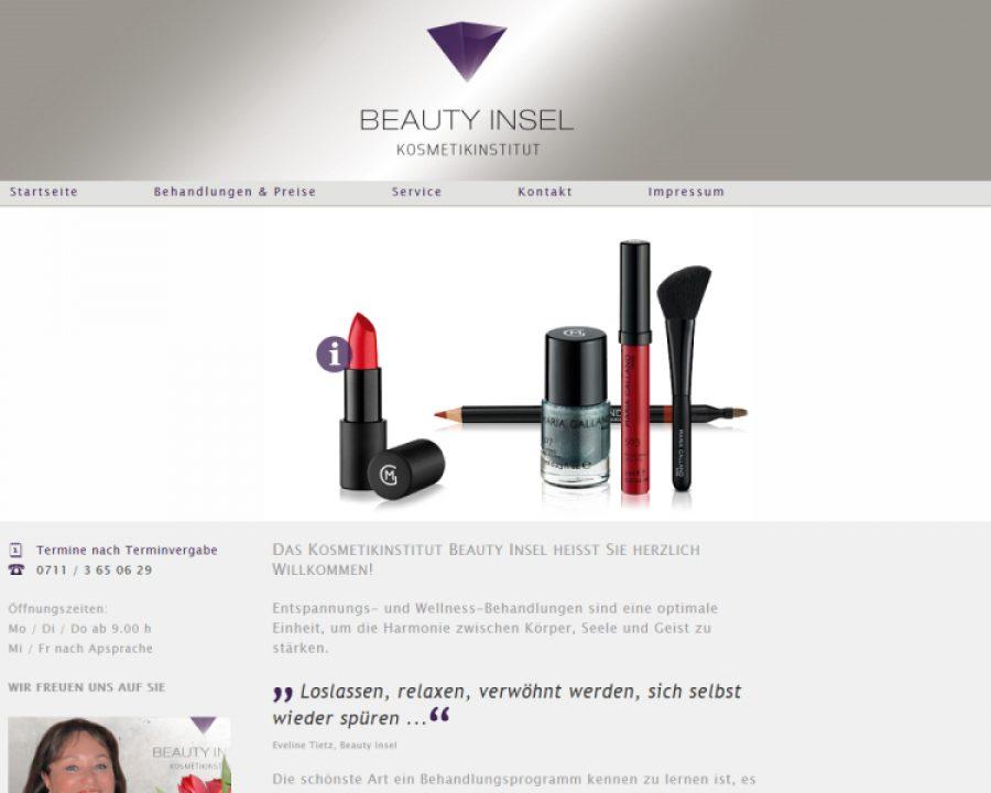 Beauty Insel: Kosmetik