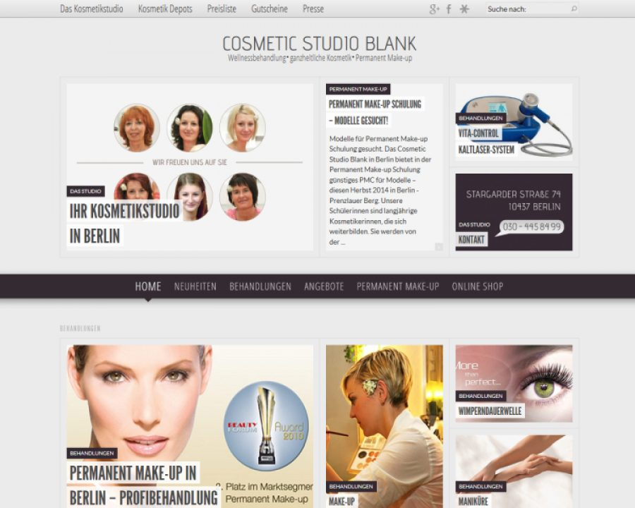 Cosmeticstudio: Kosmetik
