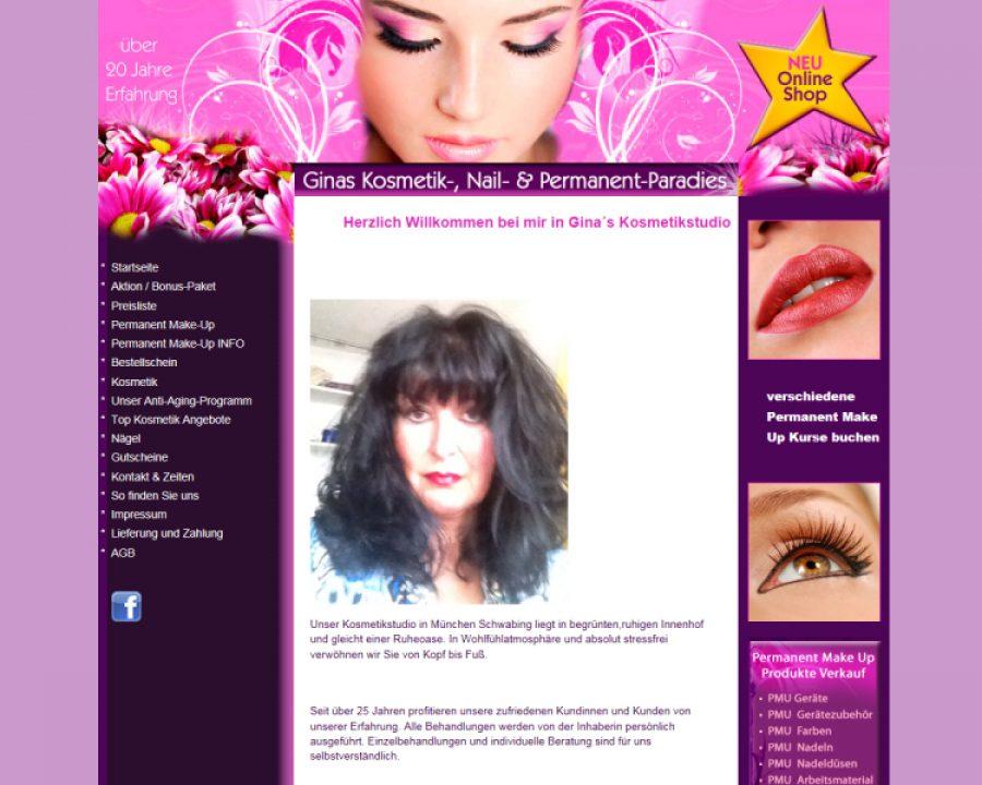 Ginas Kosmetik Gina Zilch: Kosmetik