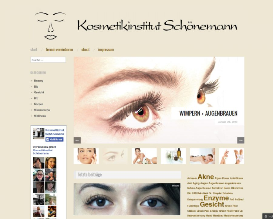 Kosmetikinstitut Schönemann: Kosmetik