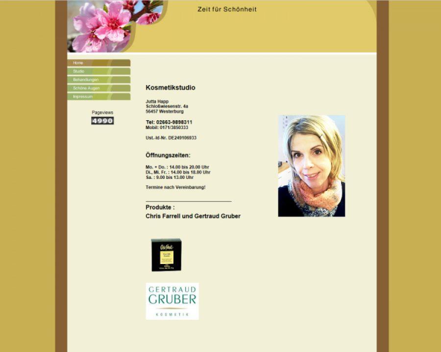 Kosmetikstudio Jutta Happ: Kosmetik