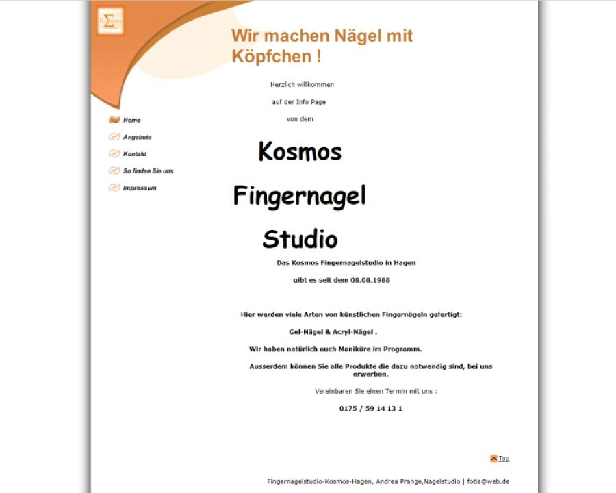 Fingernagelstudio Kosmos: Nageldesign