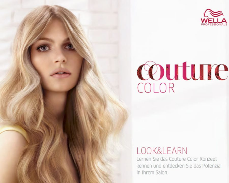 Wella Frisuren | Farbkampagne Couture Color Von Wella Professionals Friseurportal