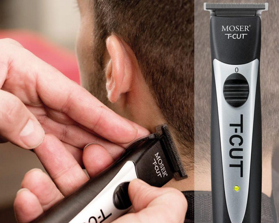Modern Barbering mit Moser T-CUT