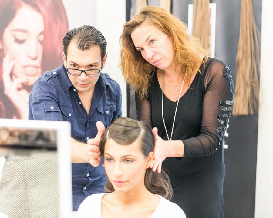 Compagnia della Bellezza war wieder auf der Mercedes-Benz Fashion Week Berlin im Einsatz