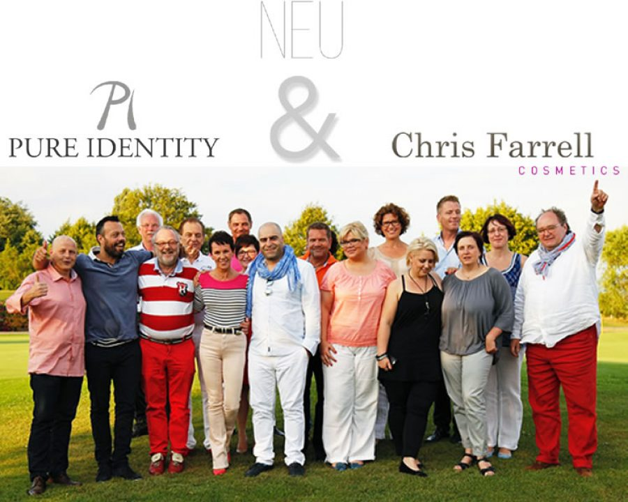 Neue Beauty Allianz: Pure Identity und Chris Farrell