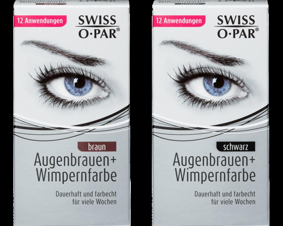 Augenbrauen- und Wimpernfarbe von SWISS O PAR
