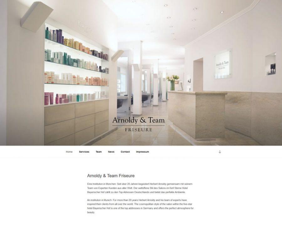 Arnoldy & Team Friseure GmbH: Friseursalons