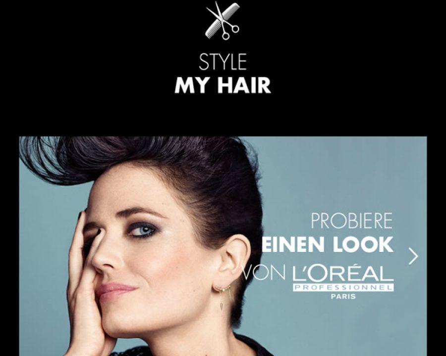 Style My Hair App Friseurportal Frisuren Trends Haare