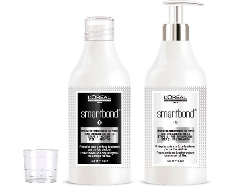 smartbond - Für gezielte Kräftigung der Haarfaser bei jeder Haarfarbe