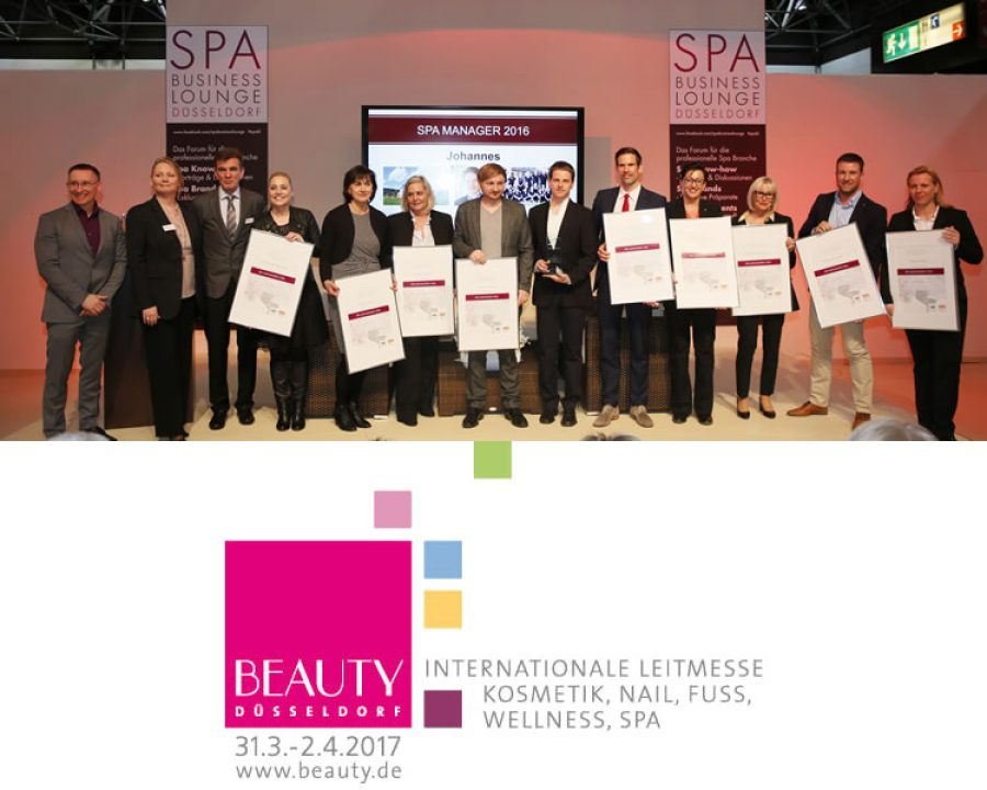 Friseurwelt Webde Beauty Düsseldorf Spa Manager Des Jahres 2017