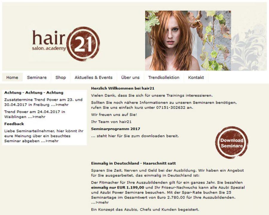 hair21. academy: