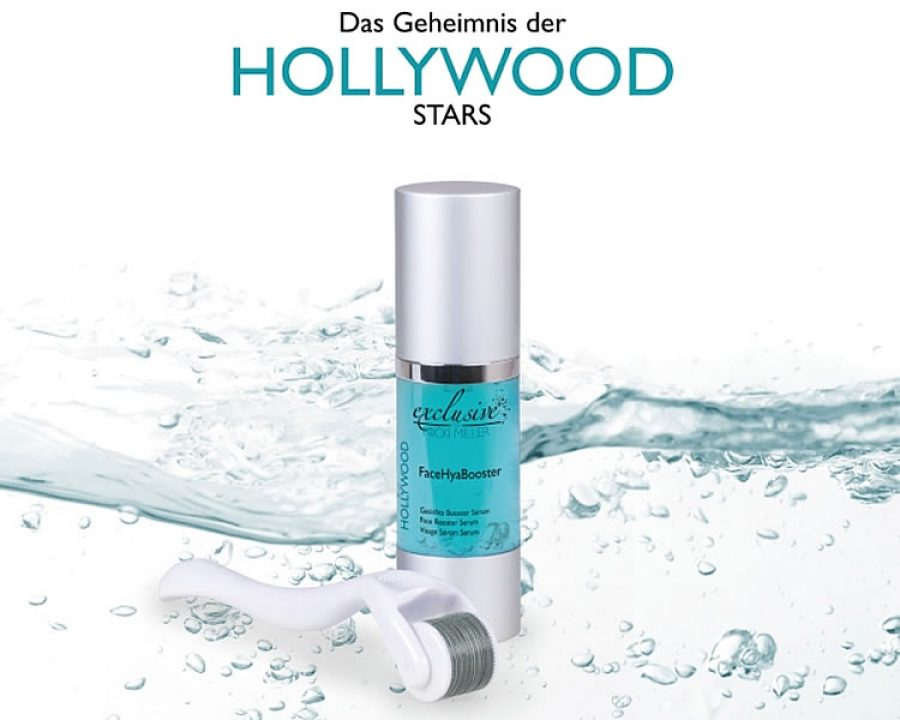 Hollywood Micro Needling und FaceHyaBooster - System