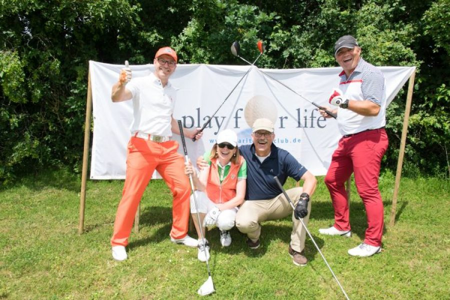 20. CHARITY GOLF-CUP PLAY FOR LIFE