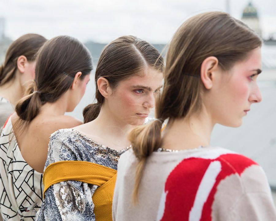 Express Yourself Haar Trends Auf Der Berlin Fashion Week 2017