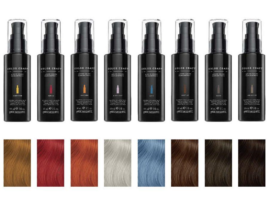 Color Craft Flüssige Farbkonzentrate Friseurportal Frisuren