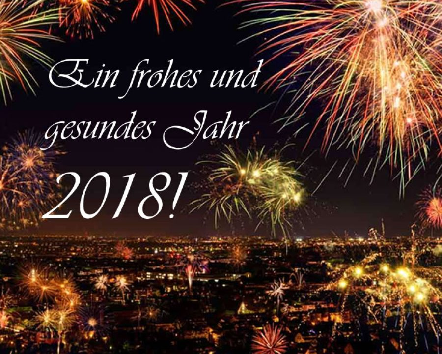 Frohes neues Jahr 2018 - happy new year 2018 | Friseurportal | Frisuren