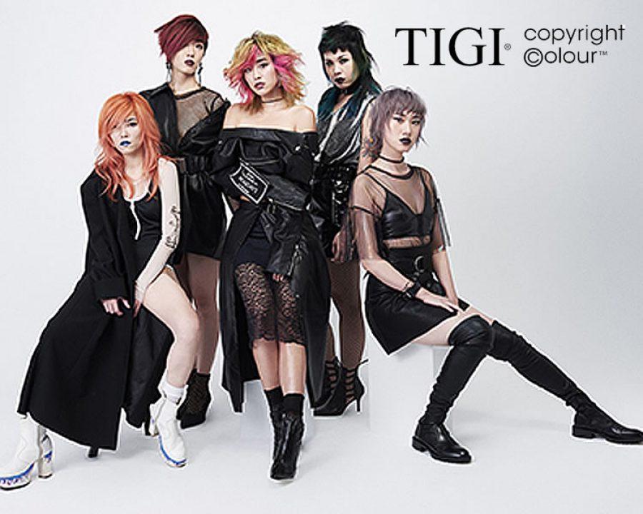 Frisuren 2018 - TIGI Streetcast-Colour-Looks 2018 aus Asien