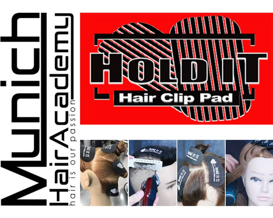 Frisuren 2018 - HOLD IT | Hair Clip Pads by Munich Hair Academy