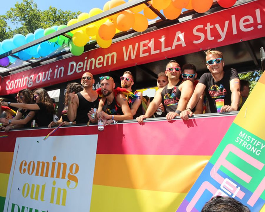Newsbild Coming out in deinem Wella Style auf der Cologne Pride