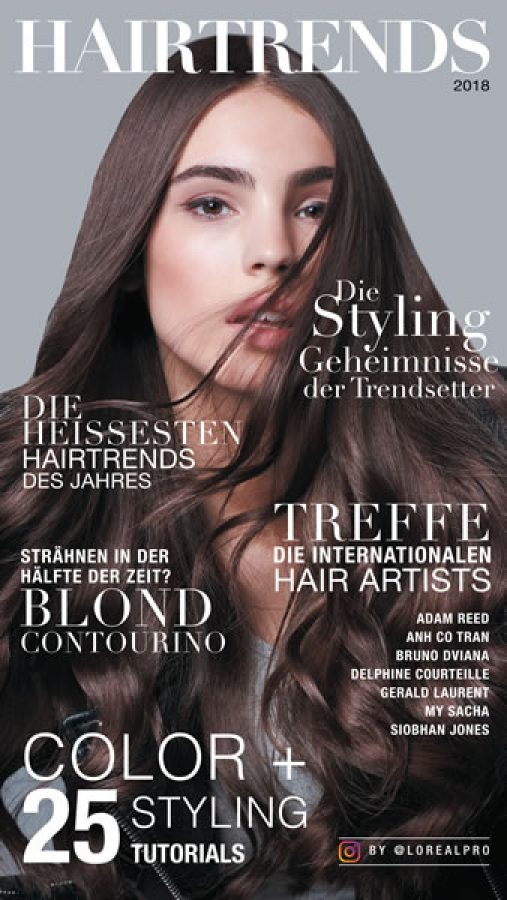 Die Haartrends Herbst Winter 2018 2019 Friseurportal Frisuren