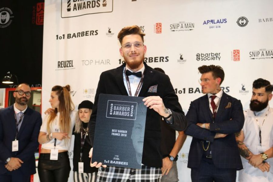 Tsvetelina Gergova aus Bulgarien ist die Gewinnerin der International Barber Awards 2018