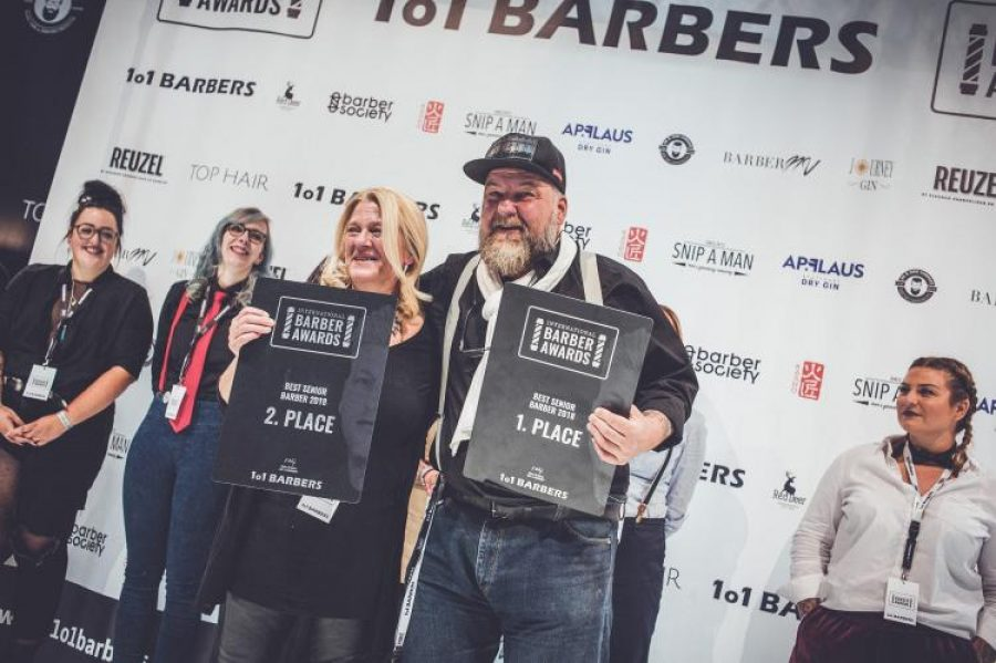 Gewinner International Barber Awards 2018