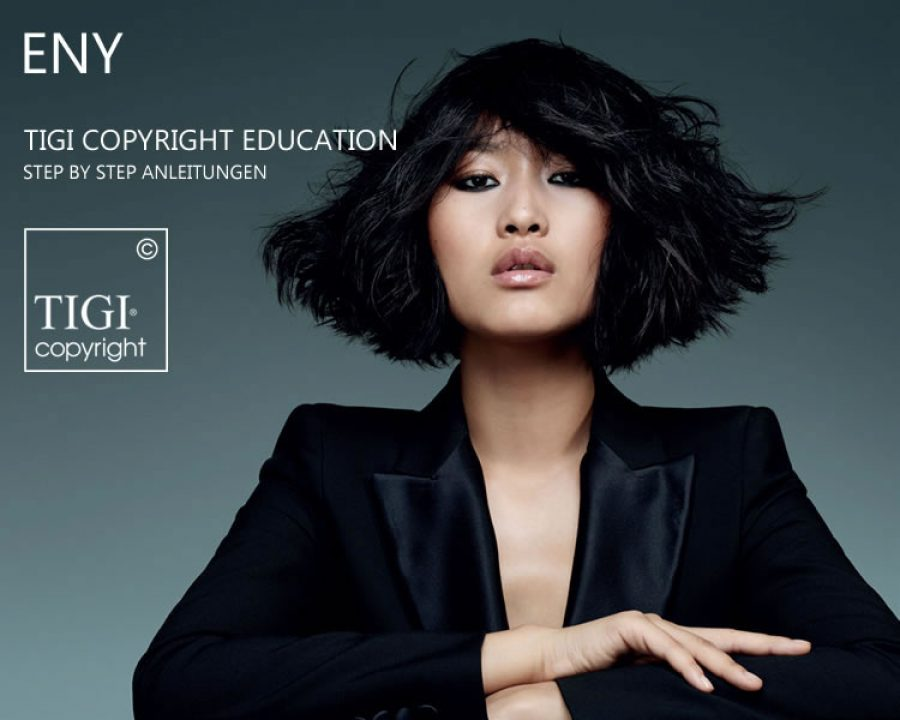 Frisuren 2018 - TIGI COPYRIGHT EDUCATION - ENY