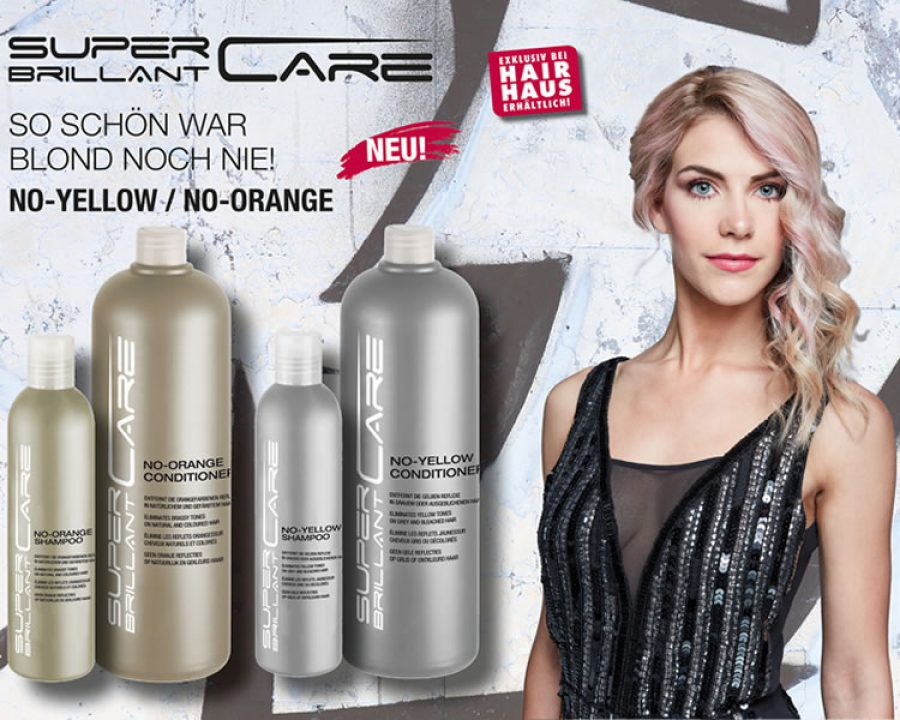 Frisuren 2019 - SUPER BRILLANT CARE NO-YELLOW & NO-ORANGE