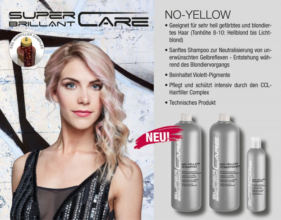 SUPER BRILLANT CARE NO-YELLOW & NO-ORANGE