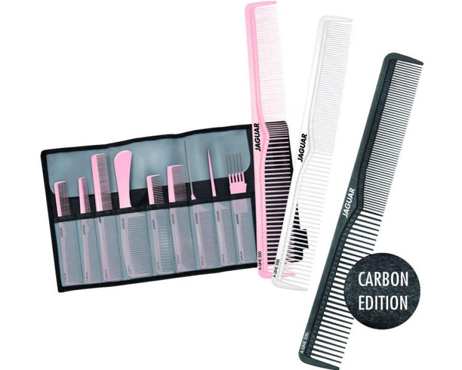 JAGUAR Kammserie A-LINE in Rosé, Arctic White und Carbon Edition