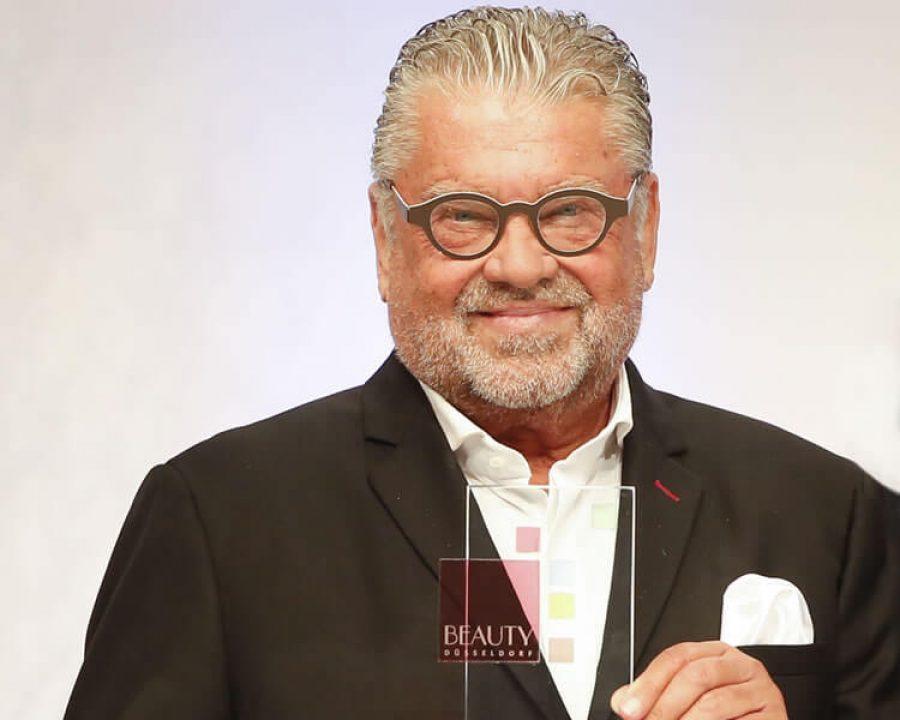 Gerhard Klapp bei der BEAUTY DÜSSELDORF 2019 ausgezeichnet
