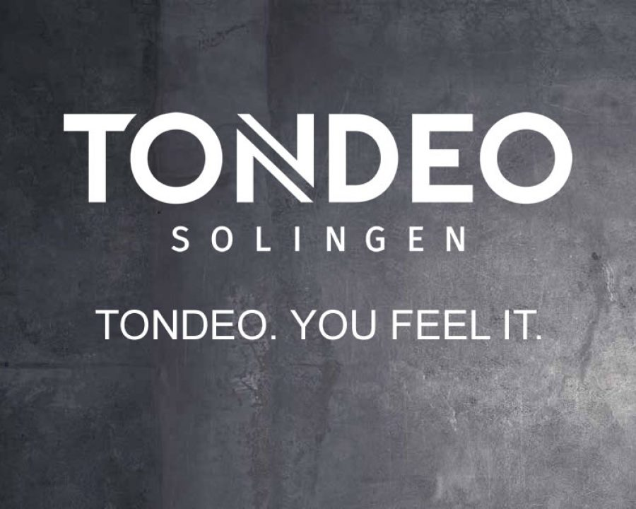 TONDEO neu erleben - TONDEO. YOU FEEL IT.