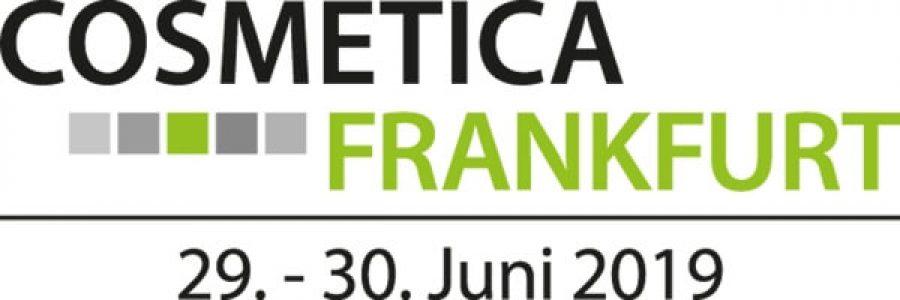 COSMETICA Frankfurt, 29. - 30. Juni 2019