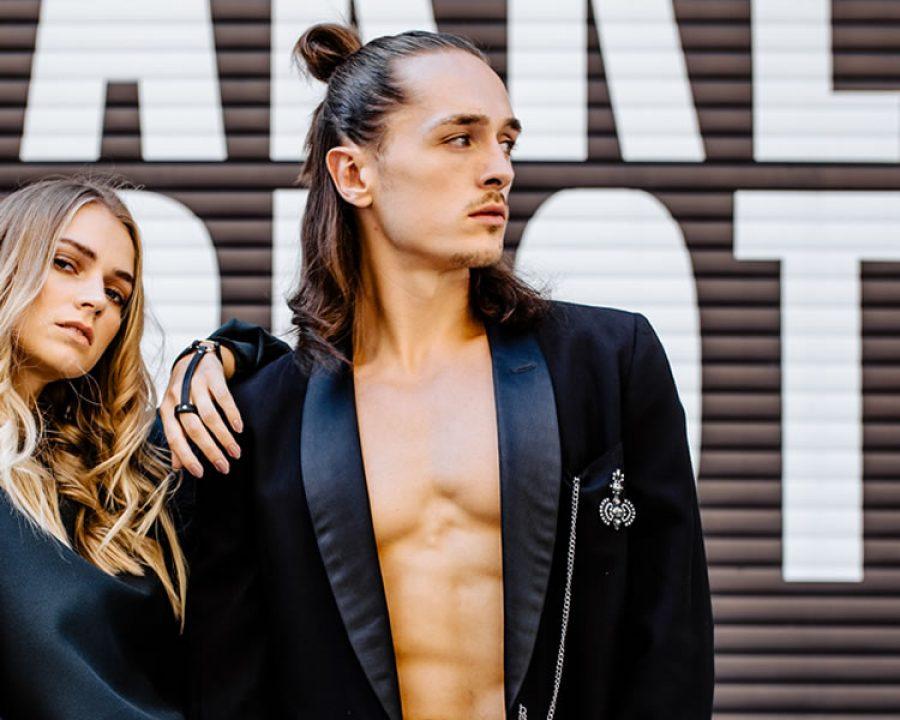 Bild Trendlook 2019 Longhair Men