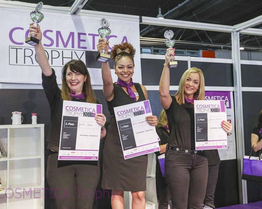 Vielbeachteter Profi-Wettbewerb für schöne Augen: Die COSMETICA Trophy