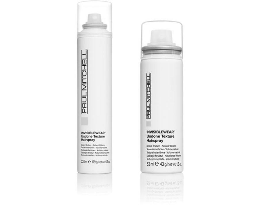 Invisiblewear® Undone Texture Hairspray