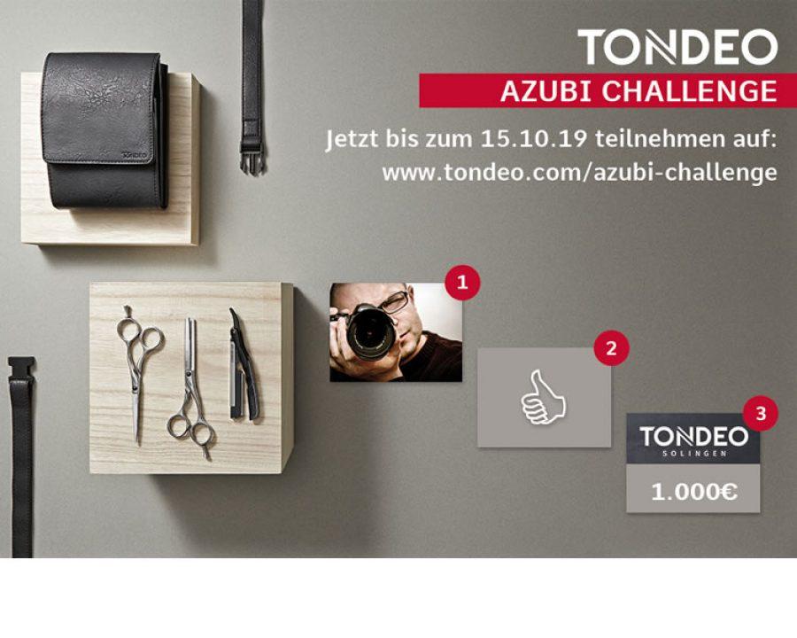 Azubis aufgepasst: TONDEO AZUBI-CHALLENGE geht in eine neue Runde!