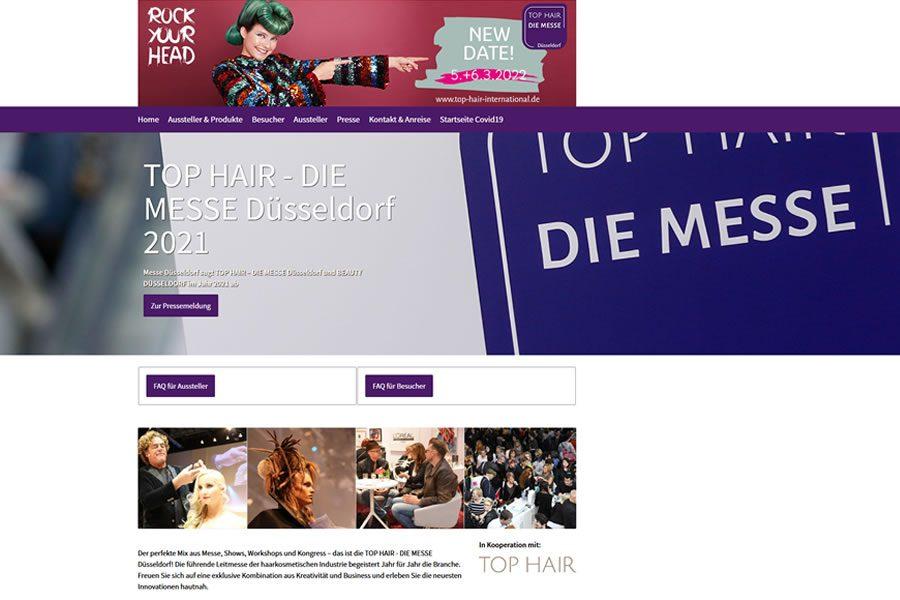 Bild TOP HAIR Düsseldorf - DIE MESSE 2021