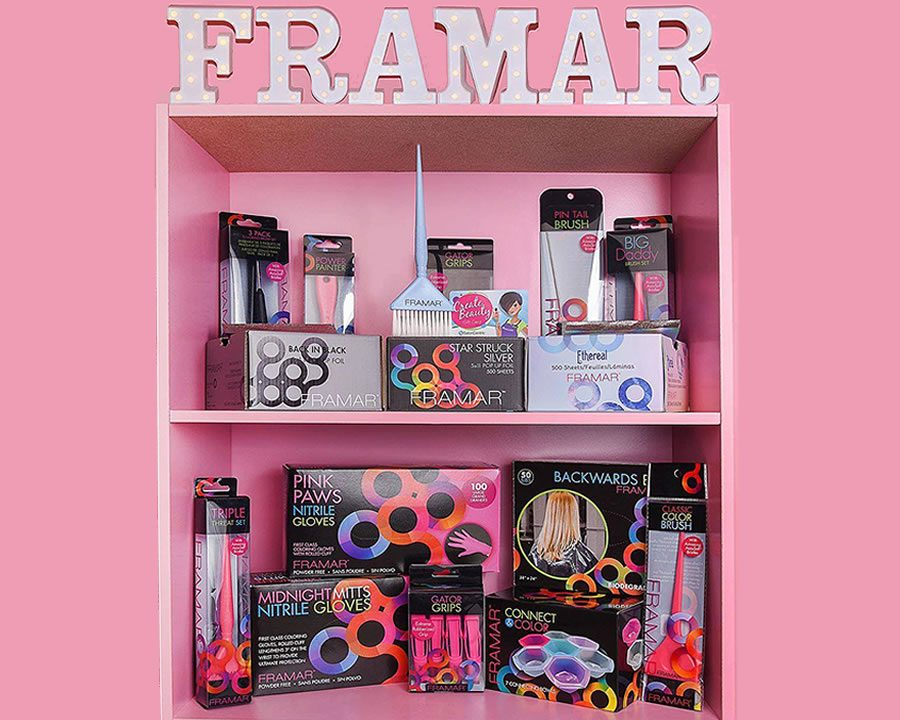 Mit FRAMAR kommt Farbe in den Salonalltag! - Bild