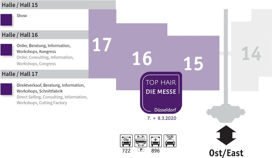 TOP HAIR – DIE MESSE Düsseldorf in neuen Hallen