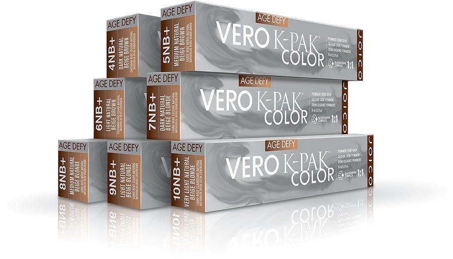 Vero K-Pak Color Age Defy Natural Beige Shades