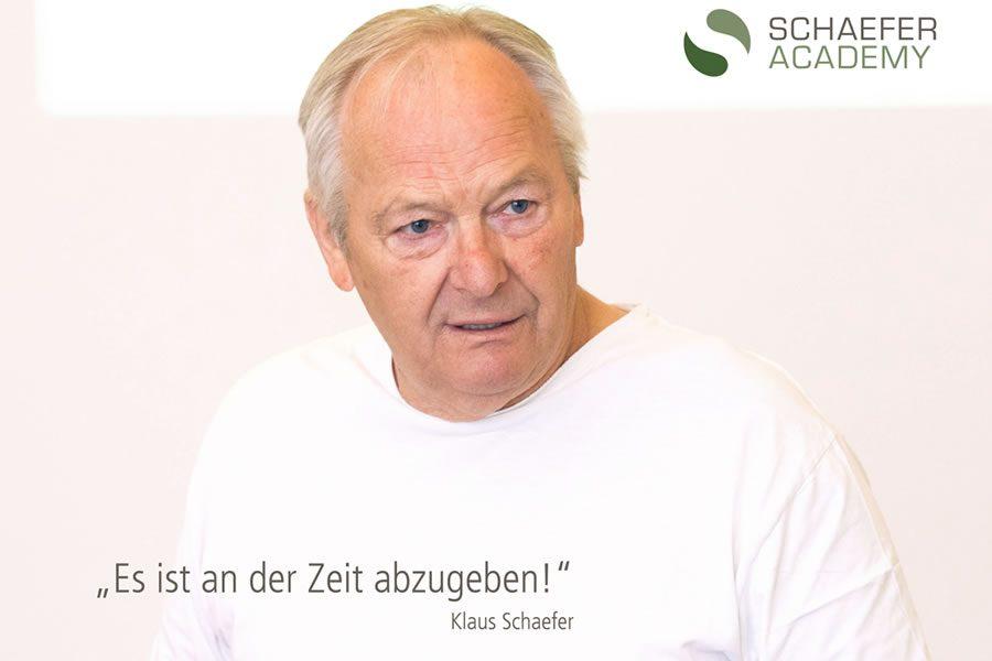 Letztes Chefseminar von Klaus Schaefer