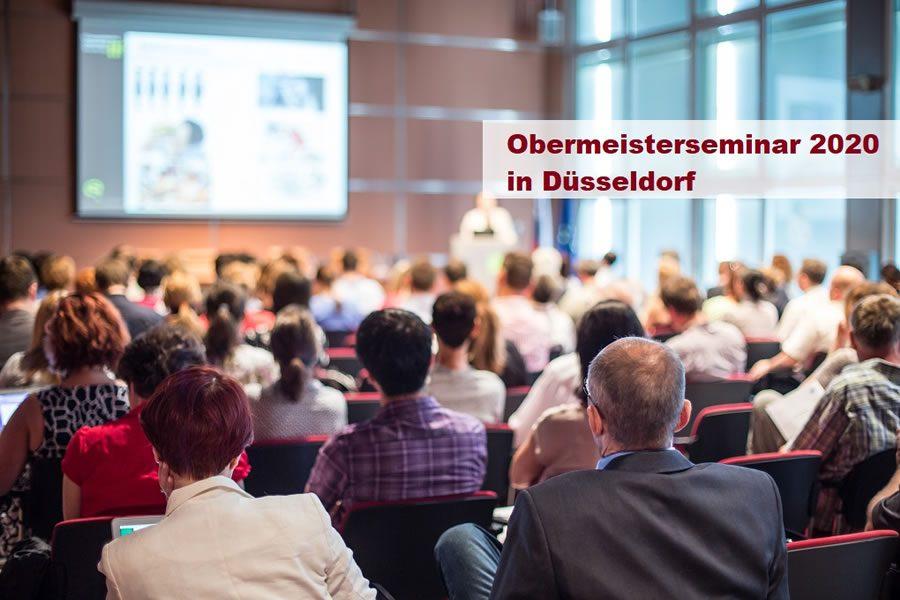 Obermeister-Jahresauftakt-Seminar 2020