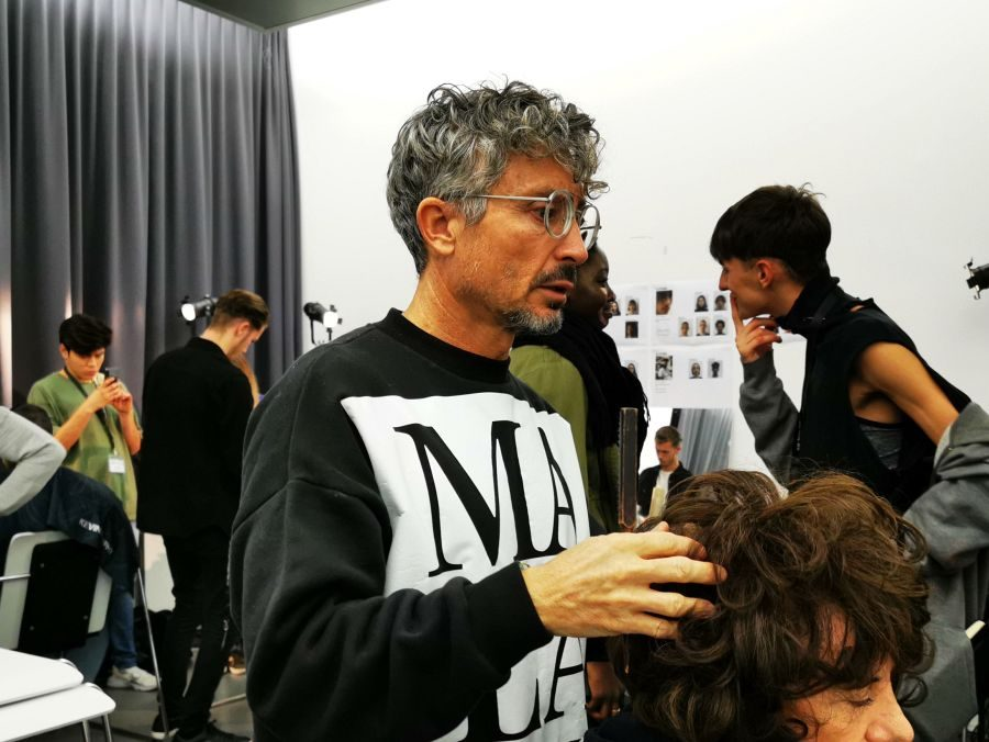 Defile Head 2019 mit Backstage-Styling by KEVIN.MURPHY