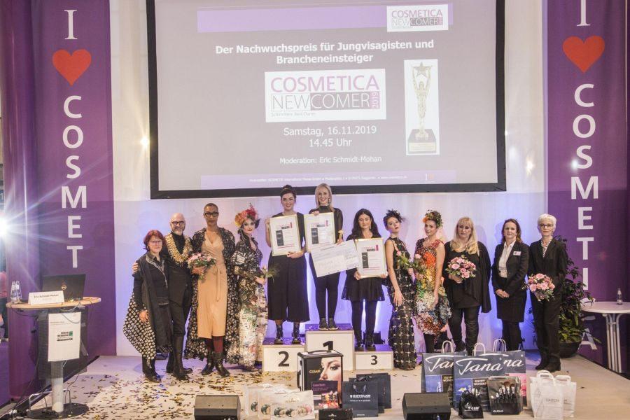 Melina Plotzki gewinnt den begehrten COSMETICA Newcomer-Award 2019!