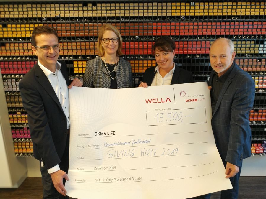 Wella Charity Aktionen: DKMS LIFE &  MOVEMBER FOUNDATION